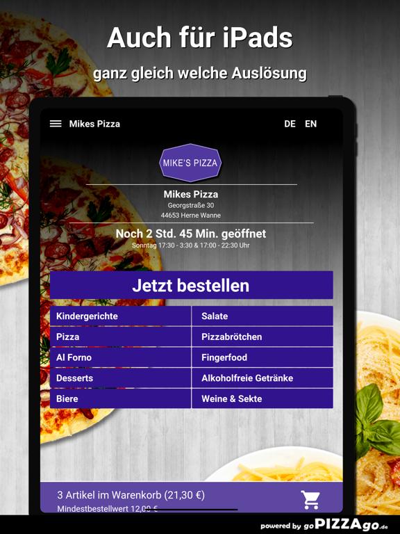 Mikes Pizza Herne Wanne screenshot 7