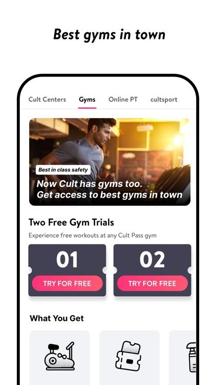 cult.fit screenshot-3