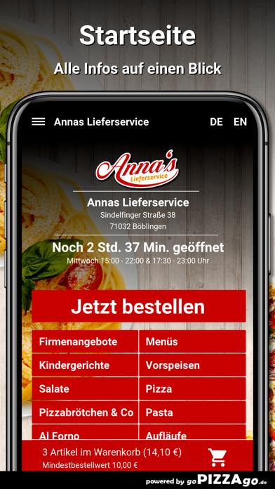 Annas Lieferservice Böblingen screenshot 2