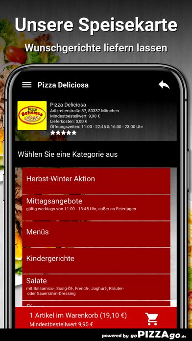 Pizza Deliciosa München screenshot 5