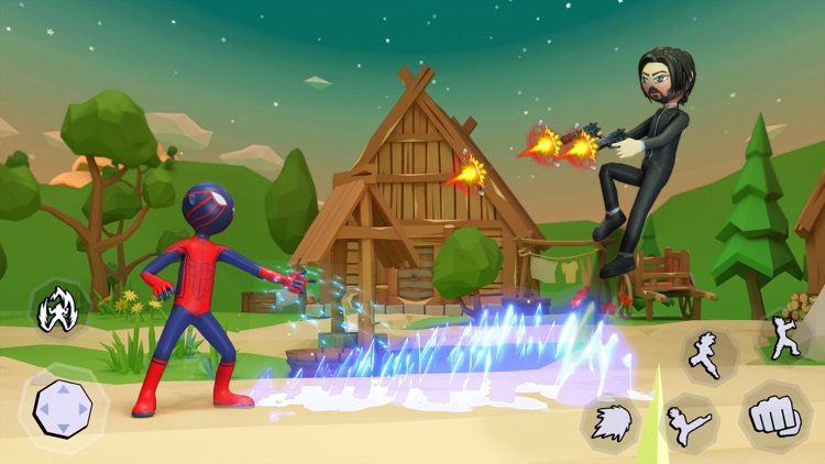 Stickman War: Fighting Games