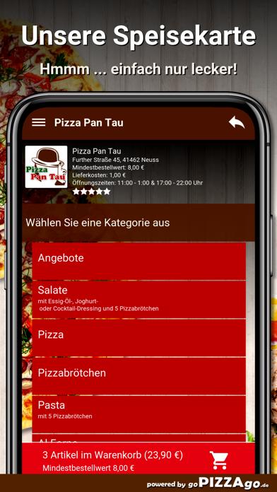 Pizza Pan Tau Neuss screenshot 4