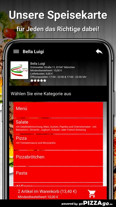 Bella Luigi München screenshot 4