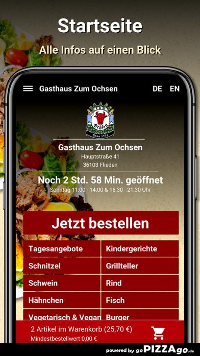 Gasthaus Zum Ochsen Flieden screenshot 2