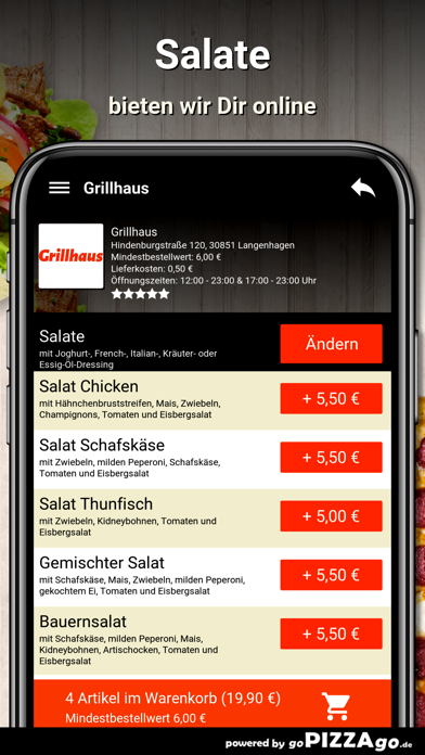 Grillhaus Langenhagen screenshot 5
