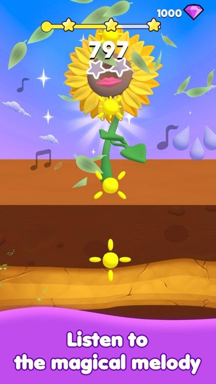 Dancing Sunflower:Rhythm Music screenshot-5
