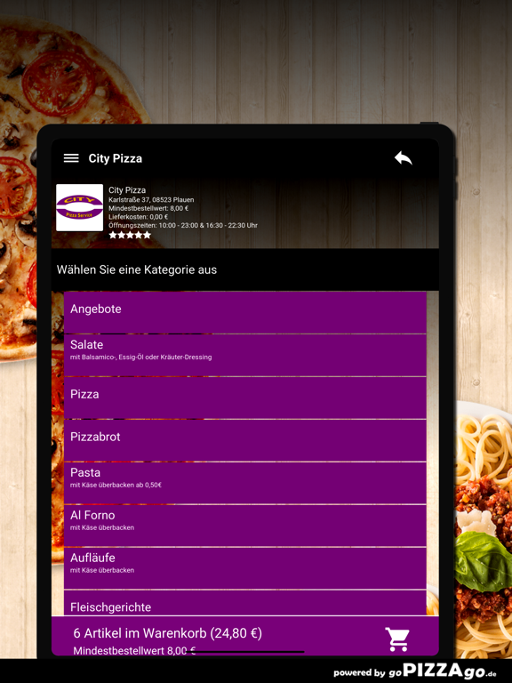 City-Pizza Plauen screenshot 8