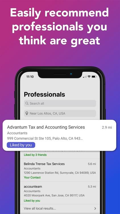 ContactsApp: Local Pros Finder screenshot-5