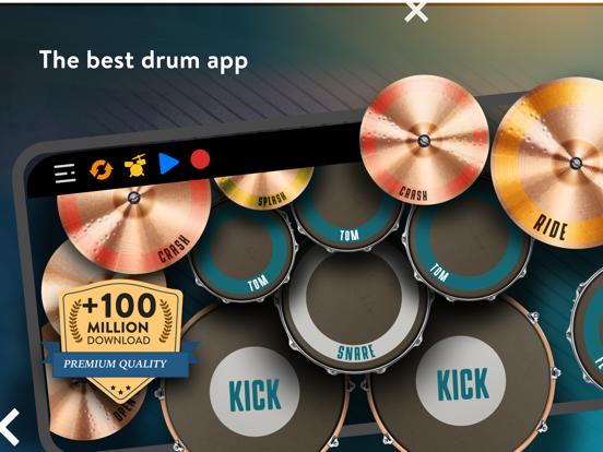 REAL DRUM: Electronic Drum Set screenshot