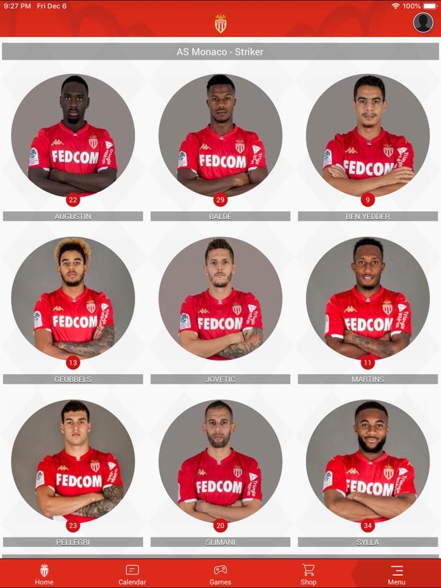 AS Monaco su App Store
