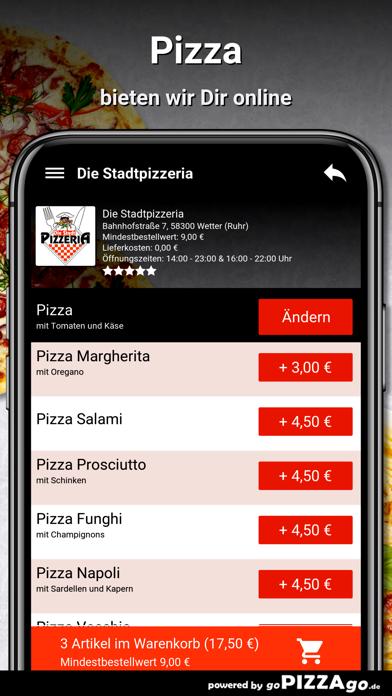 Stadtpizzeria Wetter (Ruhr) screenshot 5