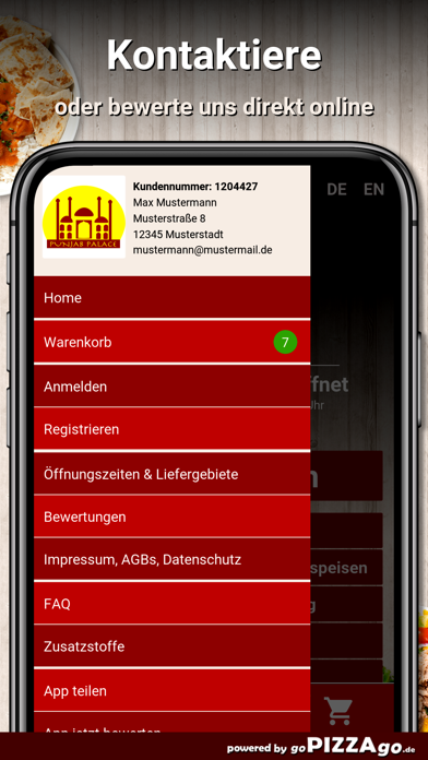 Punjab-Palace Gräfelfing screenshot 3