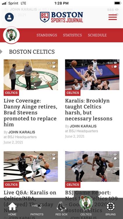 Boston Sports Journal
