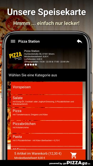Pizza Station Moers screenshot 4