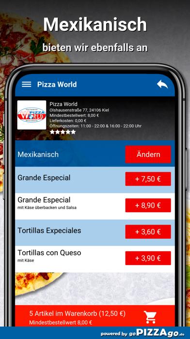 Pizza World Kiel screenshot 6
