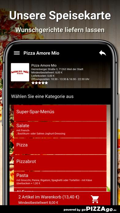 Pizza Amore Mio Weil der Stadt screenshot 4