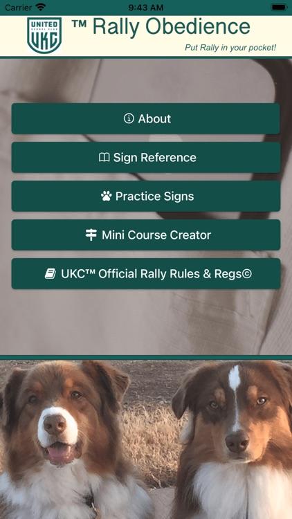 UKC Rally Dog Obedience screenshot-0