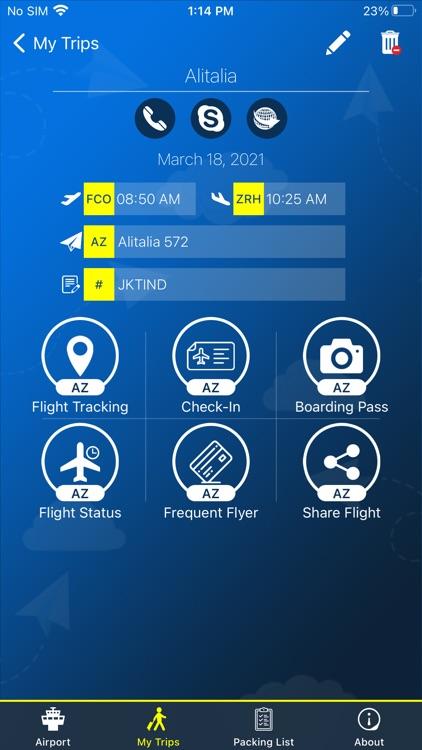 Nashville Airport Info + Radar screenshot-3