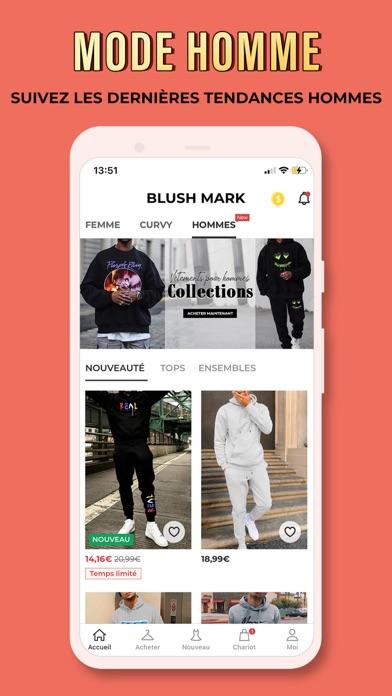 Blush Mark: Vêtements de fille