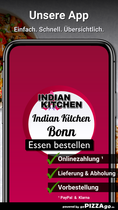 Indian Kitchen Bonn screenshot 1