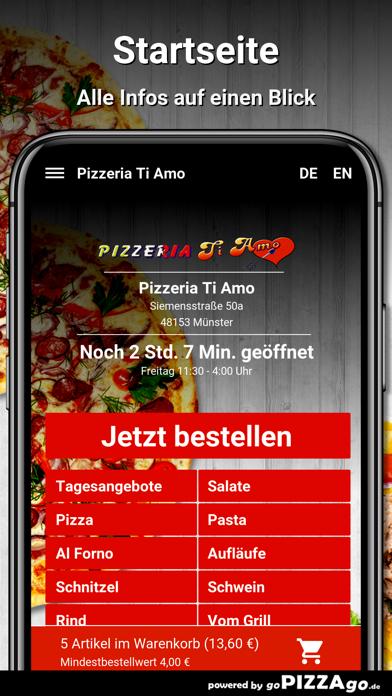 Pizzeria Ti Amo Münster screenshot 2