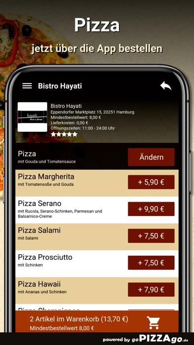 Bistro Hayati Hamburg screenshot 5