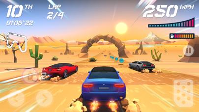 Screenshot from Horizon Chase