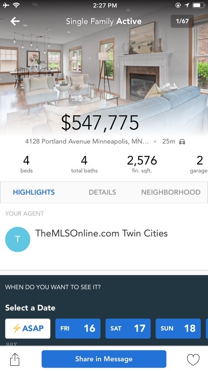 TheMLSonline Home Search