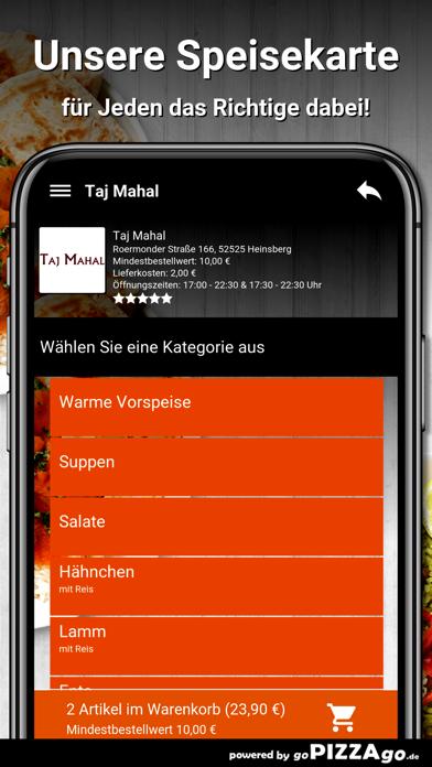 Taj Mahal Heinsberg screenshot 4