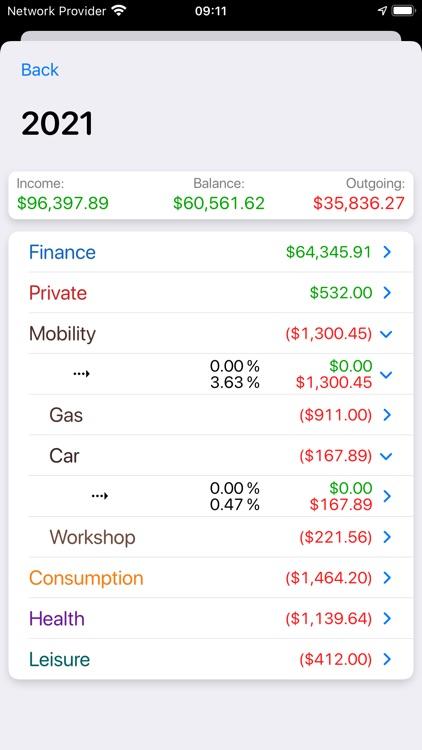 Live Budget - Money Manager screenshot-7