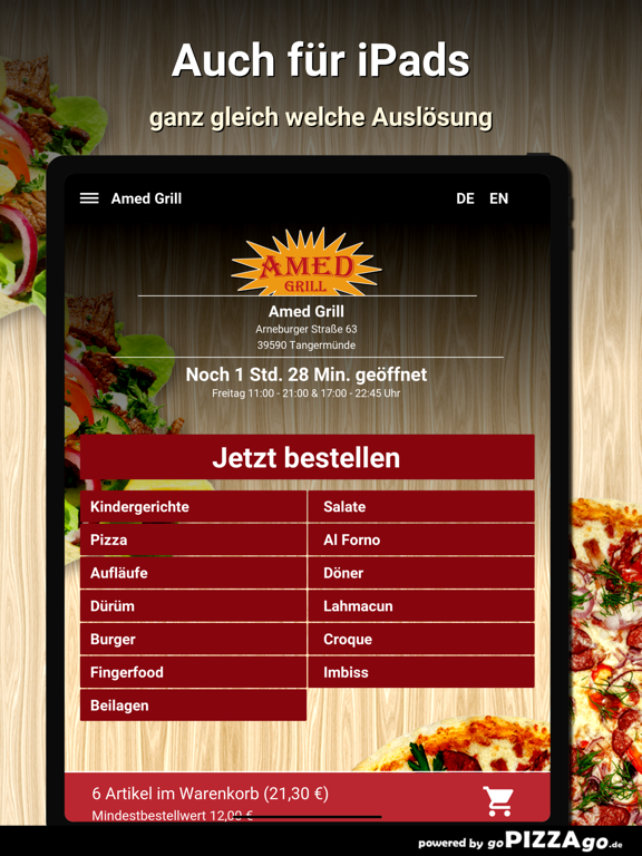 Amed Grill Tangermünde screenshot 7