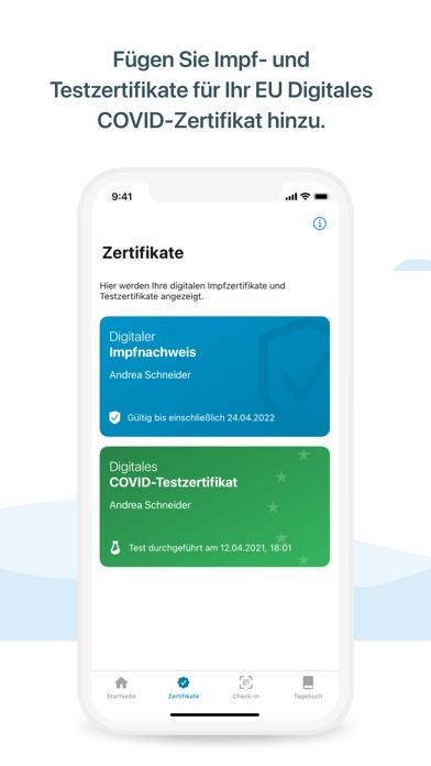 messages.download Corona-Warn-App software