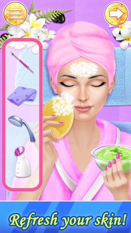 Makeover Games: Salon Makeup