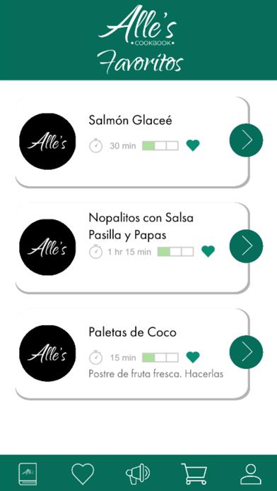 Recetario - Alle's Cookbook screenshot 6