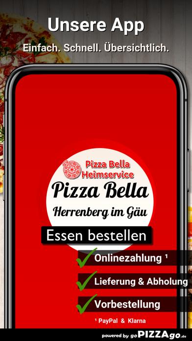 Pizza Bella Herrenberg im Gäu screenshot 1