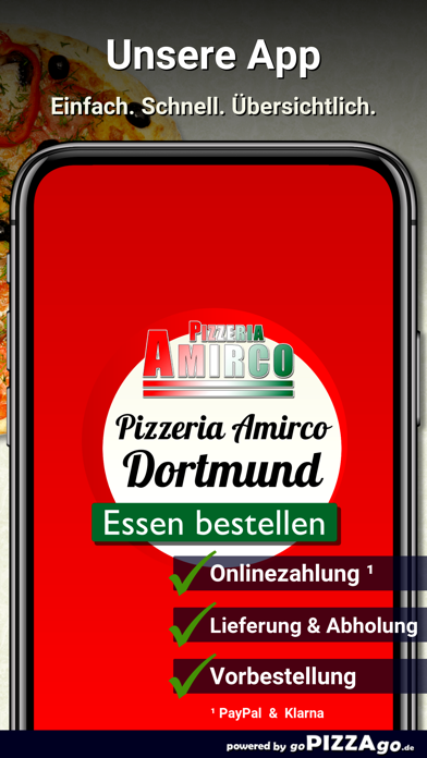 Pizzeria Amirco Dortmund screenshot 1