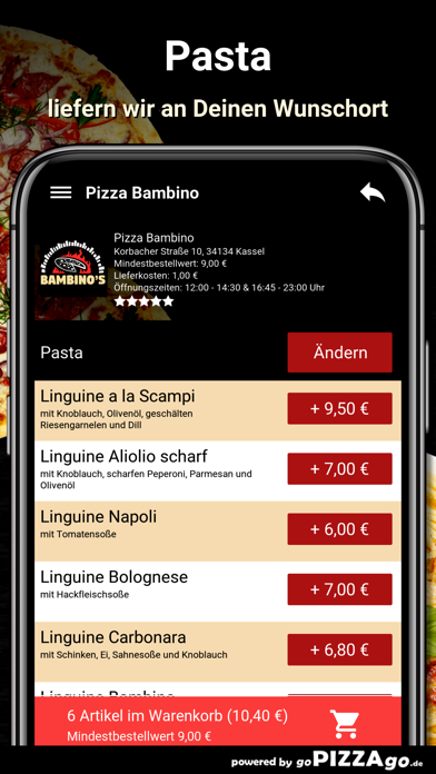 Pizza Bambino Kassel screenshot 6