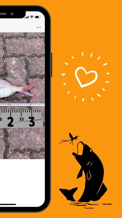 AR Fishing Measure, fish ruler