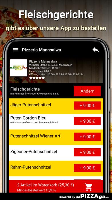 Pizzeria Mannsalwa Mörlenbach screenshot 6