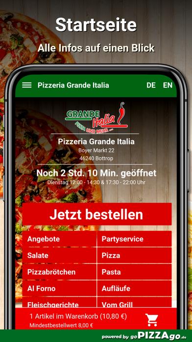 Pizzeria Grande Italia Bottrop screenshot 2