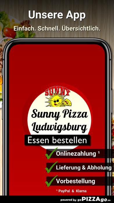 Sunny Pizzaservice Ludwigsburg screenshot 1