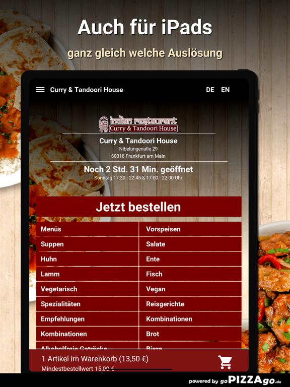 Curry&Tandoori House Frankfurt screenshot 7