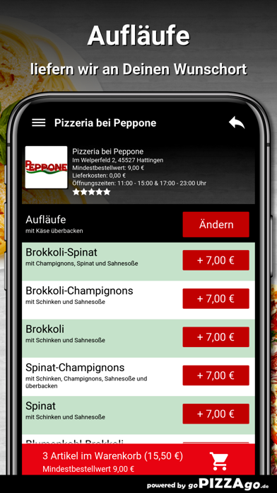 Pizzeria bei Peppone Hattingen screenshot 6