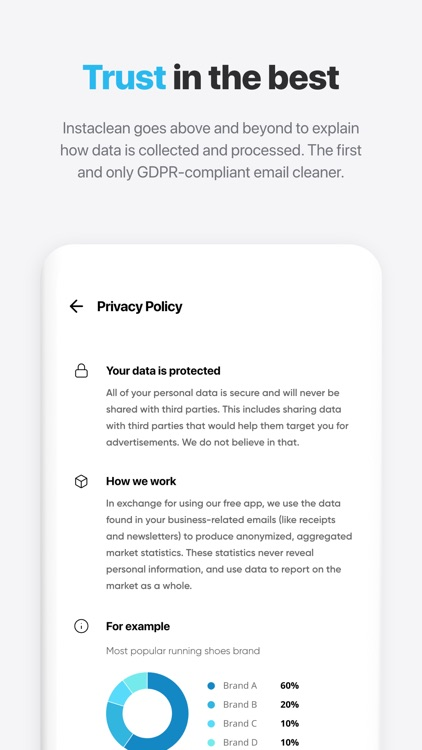 Instaclean - bulk mail cleaner screenshot-4
