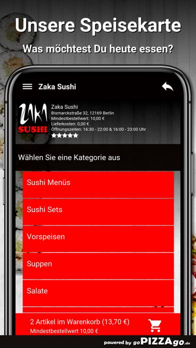 Zaka Sushi Berlin screenshot 4