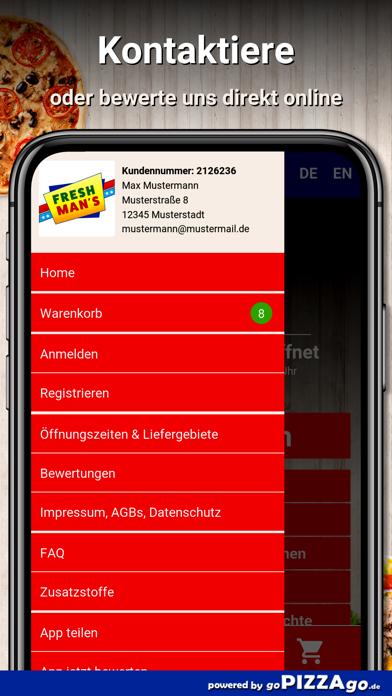 Fresh Mans Oldenburg screenshot 3