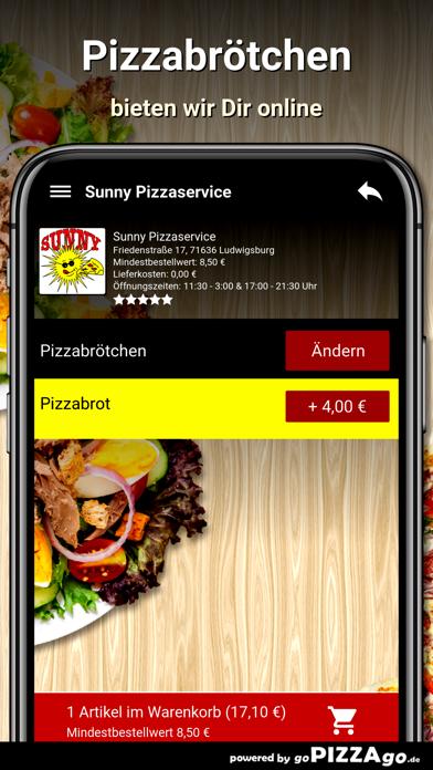 Sunny Pizzaservice Ludwigsburg screenshot 5