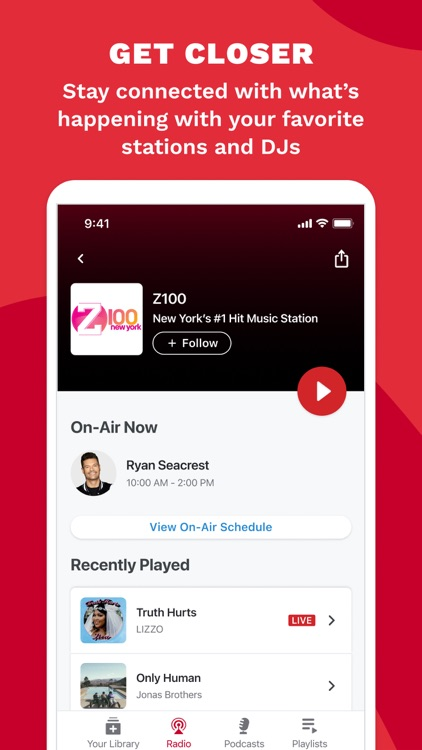 iHeart: Radio, Music, Podcasts screenshot-5