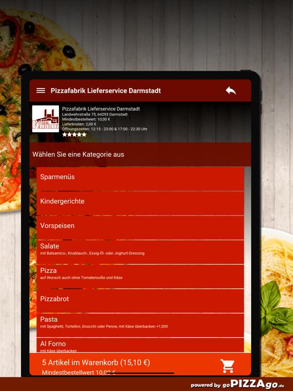 Pizzafabrik Darmstadt screenshot 8