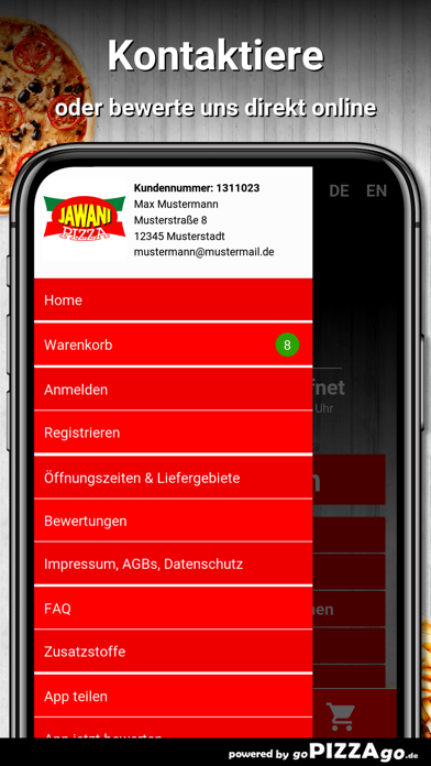 Jawani Pizza Bietigheim screenshot 3